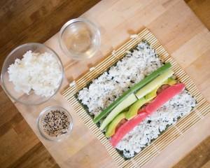Shoppe Class Sushi Rolling